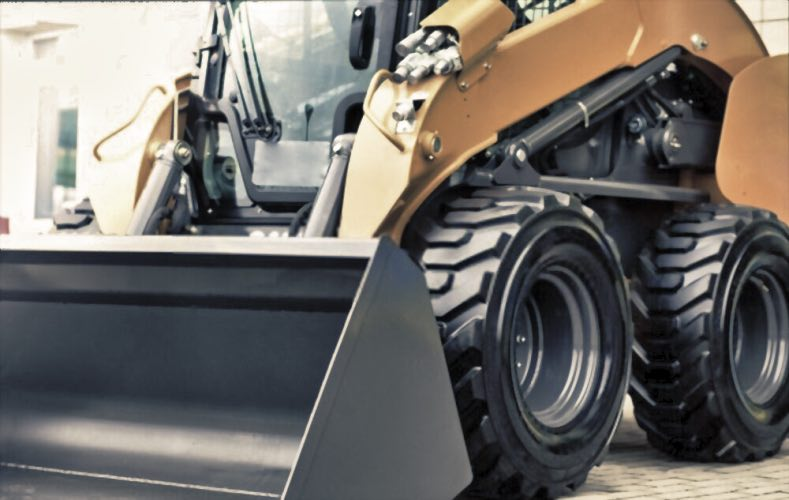 Investing in Solid Skid Steer Tires Has Many Advantages Over Pneumatic Tires